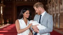 BIRTH OF NEW ERA: Prince Harry and Meghan had nice big homes to hide away in when going got tough. Picture: Getty