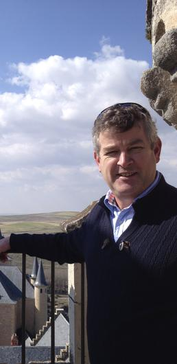 David Fitzgibbon of Aherne's Townhouse and Seafood Bar in Youghal, Co Cork