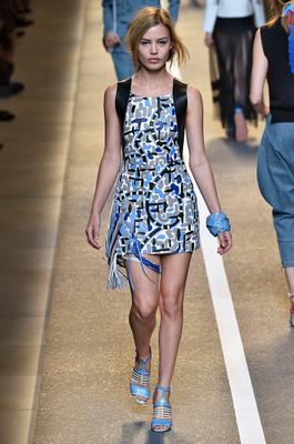 MILAN, ITALY - SEPTEMBER 18: Georgia Jagger walks the runway during the Fendi Ready to Wear show as part of Milan Fashion Week Womenswear Spring/Summer 2015 on September 18, 2014 in Milan, Italy. (Photo by Victor VIRGILE/Gamma-Rapho via Getty Images)