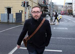 Tribal: Eoin Ó Broin believes he is lucky his experience of violence during the Troubles was 'very, very limited', despite spending three years in the tense sectarian atmosphere of Belfast. Picture: Tom Burke