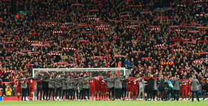 The Kop at Anfield