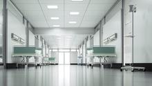 The reduction in flu should ease hospital overcrowding