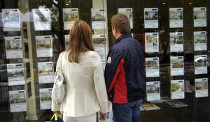 'Estate agents in the big cities and regions alike are reporting both a rush to buy and a reluctance to sell that is causing concern over market distortion.' (stock photo)