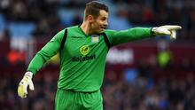 Aston Villa goalkeeper Shay Given will start the FA Cup semi-final against Liverpool. Photo: Shaun Botterill/Getty Images