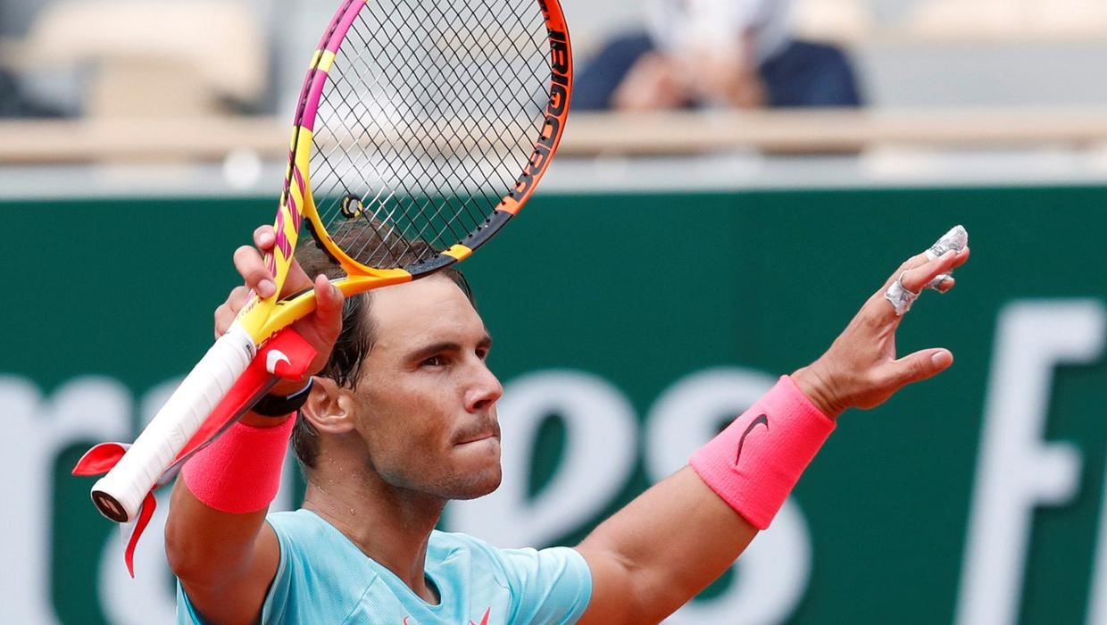 Rafa Nadal moves into French Open third round with straight sets win over Mackenzie McDonald