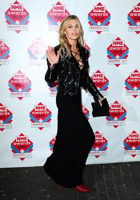 Abbey Clancy arriving for the 2014 NME Awards, at Brixton Academy, London. PRESS ASSOCIATION Photo. Picture date: Wednesday February 26, 2014. Photo credit should read: Ian West/PA Wire