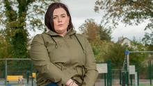 Family worries: Sinead Daly, whose husband is in the Naval Service, says life is a struggle day to day. Photo: Daragh Mc Sweeney/Provision