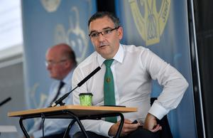 Fergal McGill, Director of Player, Club & Games Administration, has said the casual contacts of positive coronavirus cases can continue to play GAA if they are symptom free. Photo by Ramsey Cardy/Sportsfile
