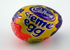 Mr O'Connell, of Meath Place, Dublin 8, pleaded not guilty to stealing a box of Cadbury Creme Eggs that were worth €3. Stock Image
