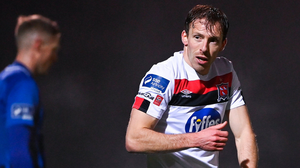 Dundalk's David McMillan. Photo: Harry Murphy/Sportsfile