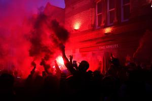 Mayor Anderson told the BBC he would be concerned about large numbers of supporters congregating at Anfield. Photo: PA