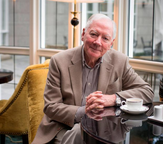 Veteran broadcaster Gay Byrne, who will return with a new series of 'The Meaning of Life'. Photo: Mark Condren