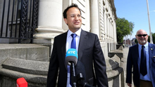 Taoiseach Leo Varadkar outside Government buildings earlier this week