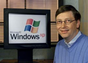 Bill Gates launched Windows XP way back in 2001