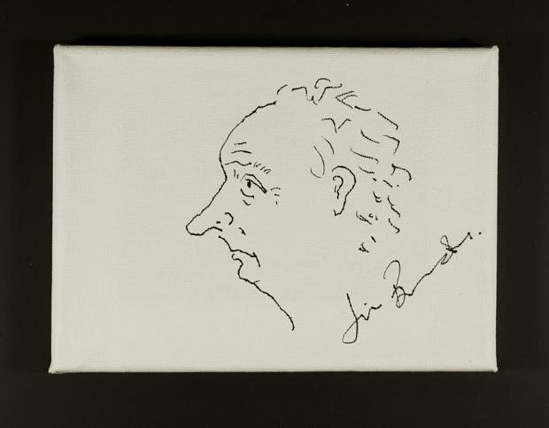 Undated handout photo issued by Breast Cancer Now of a drawing by Jim Broadbent, which will sell at Art For Cure's Make Your Mark online auction to raise money for breast cancer. Breast Cancer Now/PA Wire