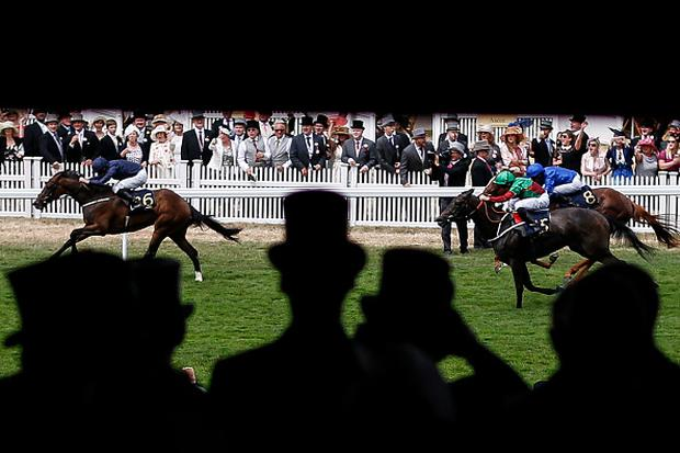 Ryan Moore riding September (L) win The Chesham Stakes on day 5 of Royal Ascot at Ascot Racecourse on June 24, 2017 in Ascot, England. (Photo by Alan Crowhurst/Getty Images for Ascot Racecourse)