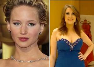 Kitty had six procedures, including liposuction and breast augmentation to look like the Oscar-winning star.