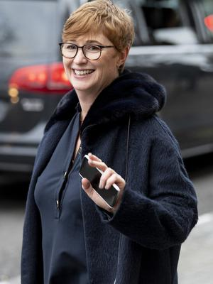 Meghan and Harry's outgoing head of communications Sara Latham pictured in London