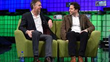 Jeremy Darroch, CEO, BSkyB, discusses The Sky is the Limit with Danny Rimer, Partner, Index Ventures, on the centre stage during Day 2 of the 2014 Web Summit