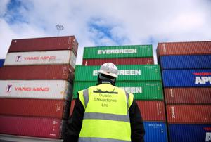 Exports fell 4pc in March from the previous month