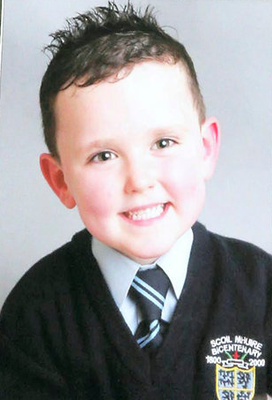 Jake Brennan, who died after being struck by a car in 2014