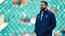Andy Farrell's men remain in contention to win the tournament if they can win in Dublin and Paris. Photo by Brendan Moran/Sportsfile