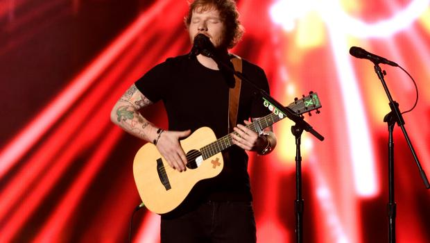 Ed Sheeran performs at the Billboard Music Awards at the MGM Grand Garden Arena on Sunday, May 17, 2015, in Las Vegas. (Photo by Chris Pizzello/Invision/AP)