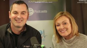 Karl Henry with this week's guest, Mary Kennedy