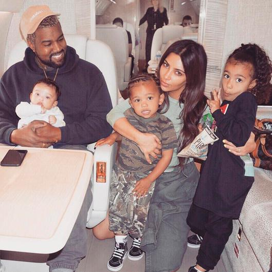 Kanye and Kim are expecting their fourth child
