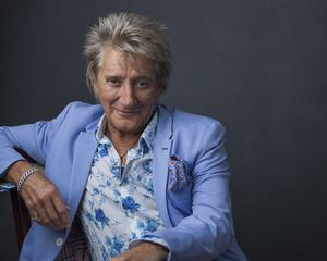 """Rod Stewart had an eventful love life but """"I was creeping up in age and I really wanted to settle down"""" and finally found wedded bliss with wife Penny."""