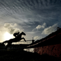 Magic Of Light, with Robbie Power up, jump the last at Fairyhouse Racecourse in Meath. Photo by David Fitzgerald/Sportsfile