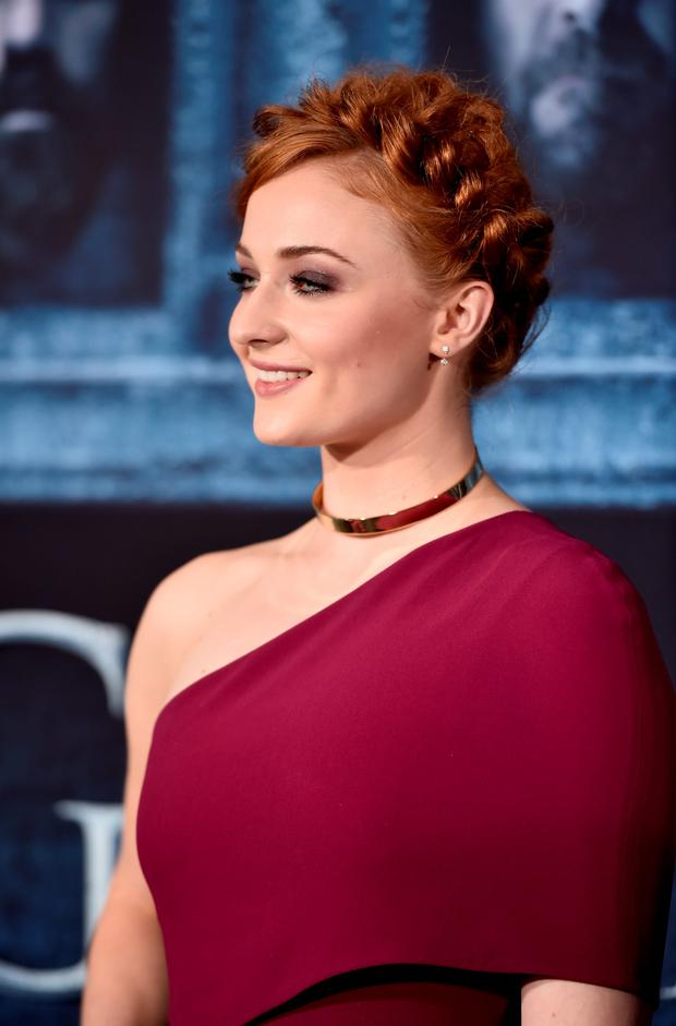 Actress Sophie Turner attends the premiere of HBO's
