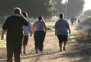 Dr James Brown told the British Science Festival that walking half-an-hour each day helped prevent obesity and diabetes, lowered the risk of some cancers and relieved depression and anxiety. Photo: Justin Sullivan/Getty Images