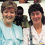 Friends: Marian Finucane and Nuala O'Faolain in Kenya covering the 1985 UN Decade for Women Conference for RTÉ
