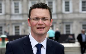 Junior Minister Patrick O'Donovan. Photo: Tom Burke