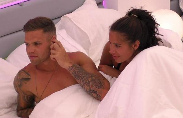 Jess and Dom were the first to have sex on Love Island this year