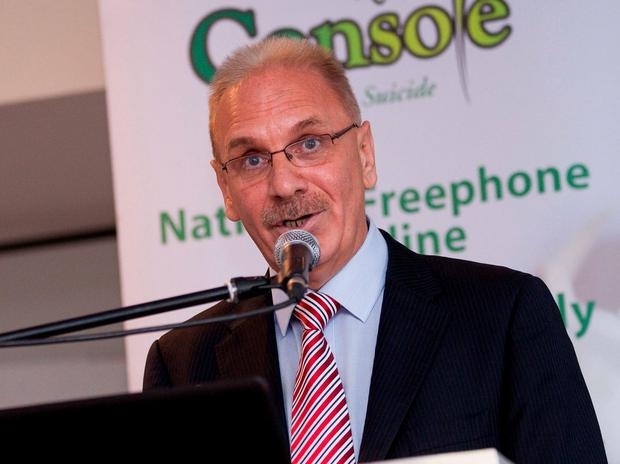 Former Console chief Paul Kelly. Photo: Conor McCabe