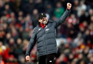 TRUE LEADER: Liverpool manager Jurgen Klopp has his team playing a great brand of football. Photo: Martin Rickett/PA Wire.