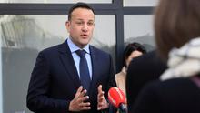 Grilling: Taoiseach Leo Varadkar and ministers faced five hours of Dáil questions yesterday on the Covid-19 response. Photo: Frank McGrath