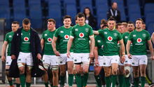 Luke Fitzgerald says that Ireland should go for a 'few drinks' to relax after a poor start to the Six Nations. Photo by Ramsey Cardy/Sportsfile