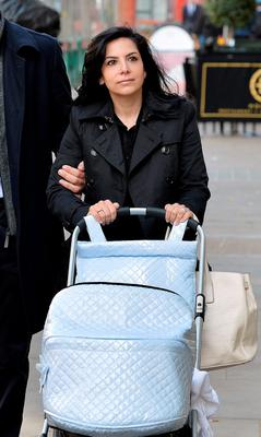 Goldman Sachs banker Sonia Pereiro-Mendez arrives at the Central London Employment Tribunal in London, after she claimed she was cheated out of millions of pounds in bonuses and subjected to sexist comments because she is a woman. Photo: John Stillwell/PA Wire
