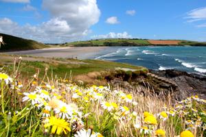 """Ireland's best view is of Inchydoney Beach, Clonakilty in stunning West Cork,"" says Claire O'Brien. ""Even though I have visited the beach frequently since childhood, the view still manages to take my breath away EVERY time!!!"""