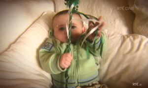 Eoghan Dunne as a baby.