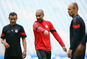 Pep Guardiola has said that although his side go into the Champions League as one of the early favourites, they will not be taking the competition for granted. Photo: Alex Grimm/Bongarts/Getty Images