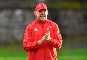 Head coach Peter Malone made six changes to the team that recorded a bonus point win in Doncaster last weekend, in a rescheduled clash. Picture credit: Matt Browne / Sportsfile