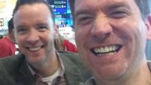 Dermot (left) and Dave set to take to the national airwaves