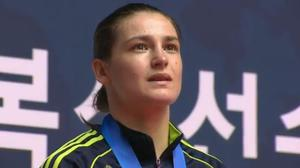 Katie Taylor wins gold at the World Championship in South Korea