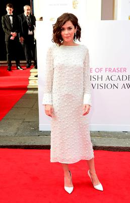 Anna Friel arrives for the House of Fraser British Academy of Television Awards at the Theatre Royal, Drury Lane in London. PRESS ASSOCIATION Photo. Picture date: Sunday May 10, 2015. See PA story SHOWBIZ Bafta. Photo credit should read: Ian West/PA Wire