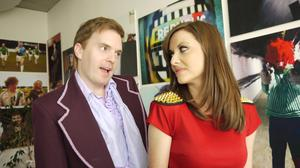 Bernard O'Shea and Jennifer Maguire Republic of Telly Monday nights at 10pm on RTE Two