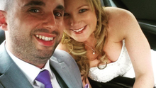 Radio DJ Nikki Hayes and soldier Frank Black tied the knot in Dublin in May.